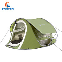 New Outdoor automatic tents speed open lazy tent Double waterproof portable pop up camping tent