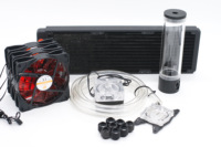 Bykski Water Cooling Kit For CPU Model Intel AMD 360mm Copper Radiator