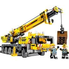 Minecraft City Engineering Excavator Machine Car Building Blocks Compatible my Enlighten Bricks Toys For