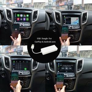 Image 5 - ONKAR Carplay Dongle USB אנדרואיד אוטומטי עבור אנדרואיד רכב ראש יחידת DVD מולטימדיה ניווט חכם קישור הפעלה אוטומטית תמיכת IOS