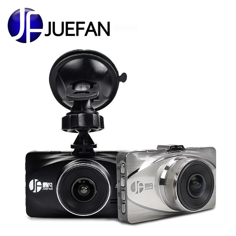 JUEFAN DVR 3.0 pouces pour voiture Full HD 1080 P Novatek 96655 caméra enregistreur dash camer 170 degrés 6g lentille WDR dash cam vision nocturne