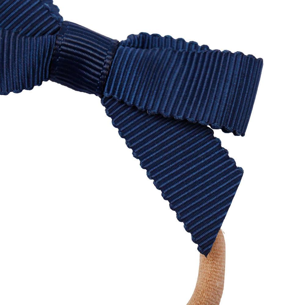 """16 أجزاء/وحدة 3 """"مطاطا نايلون عقال للطفل بنات لطيف pinبعجلات Grosgrain الشريط فيونكات شعر هيرباند إكسسورات شعر الأطفال"""