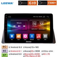 LEEWA 10.1 2.5D Nano IPS Screen Android 8.1 Octa Core/DDR3 2G/32G/4G LTE Car Media Player For 8th Honda Accord 2008 2016 (1din)