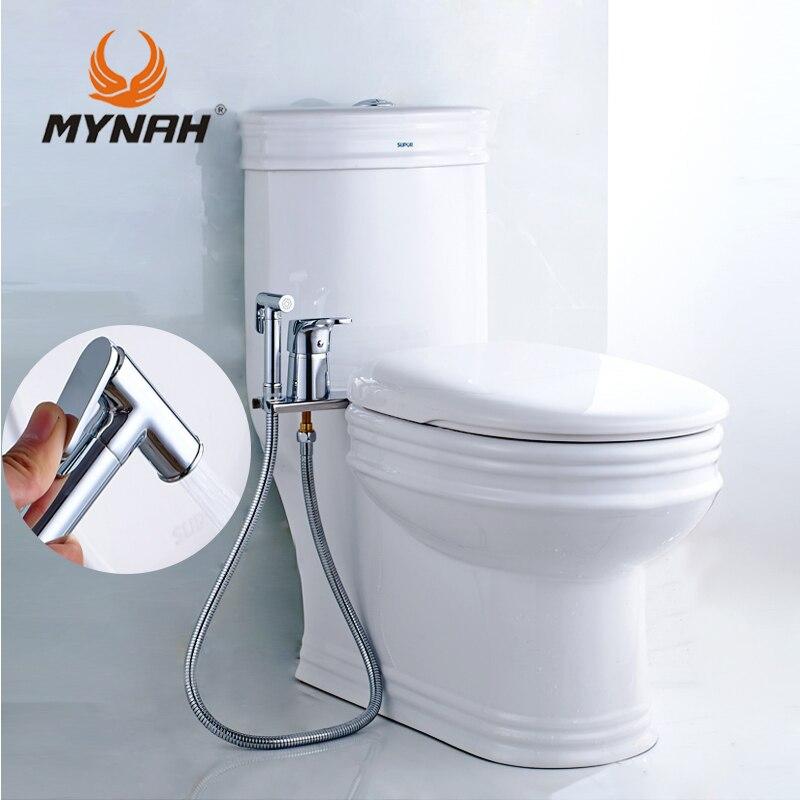MAINATE Bidet Pulvérisateur Toilettes Handheld Bidet De Douche De Bain Multi-fonctionnelle Salle De Bains De Poche