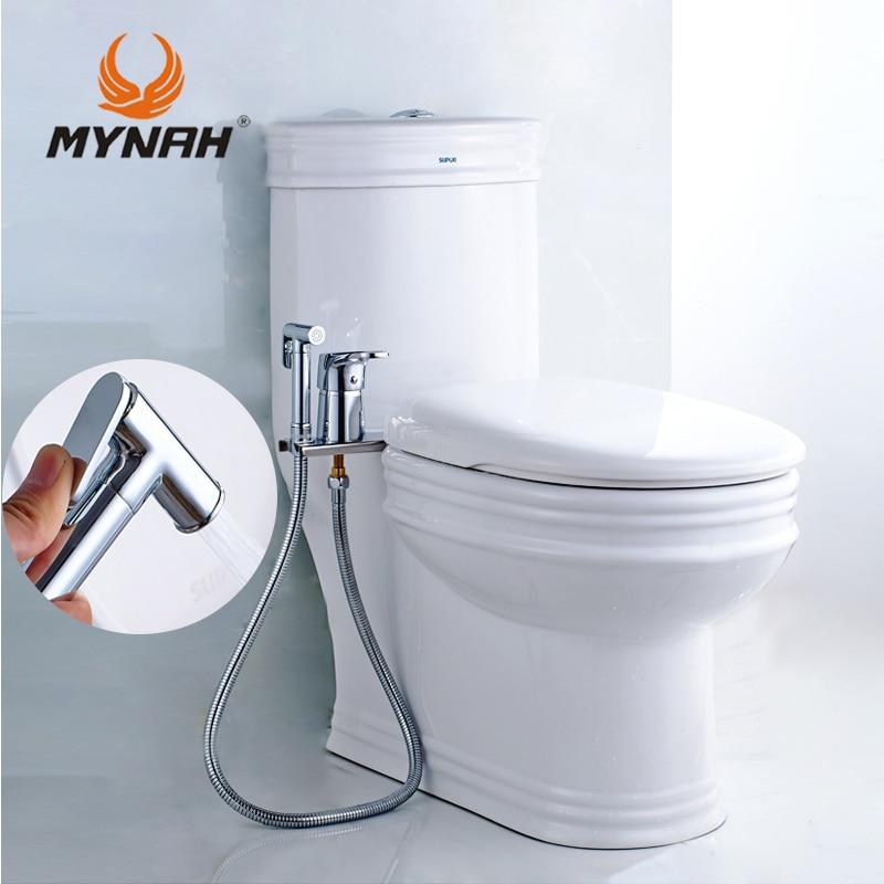 MYNAH Bidet Sprayer Wc Handheld Dusche Bidet Bad Multi-funktionellen Badezimmer Handheld