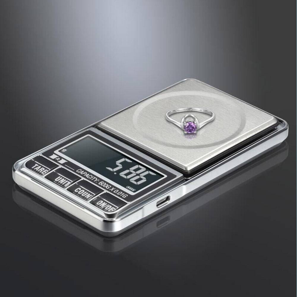 600g*0.01g Digital Scale Jewelry Electronic Pocket weight scales terazi Precision Balance bilancia digitale di precisione scales 50g 0 001g precision digital jewelry gem powder scales electronic diamond milligram scale bench weighing balance free shipping