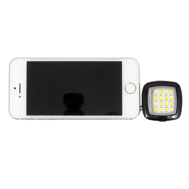 Fashion Built-in 16 LED Selfie FLASH Lamp