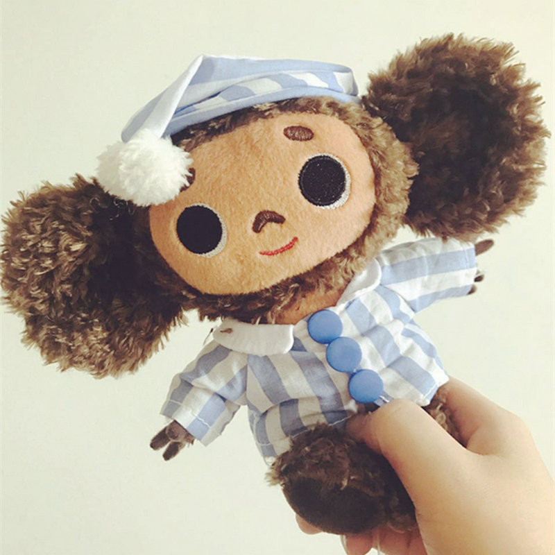 Russland Cheburashka Großen Ohr Affe plüsch spielzeug für Kinder Große augen Lange Plüsch kuscheltiere Affe puppen für jungen mädchen geschenk