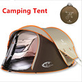 3-4 Person 240*180*110cm Double Layer Waterproof Windproof Large Camping Tents Automatic Tents Climbing Hiking Tent Hot 2017 New