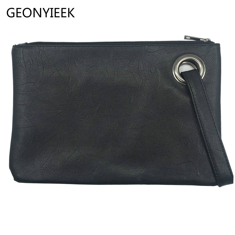 Fashion solid women's clutch bag leather women envelope bag clutch evening bag female Clutches Handbag free shipping kpop fashion knitting women s clutch bag pu leather women envelope bags clutch evening bag clutches handbags black free shipping