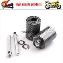 Motorcycle Racing No Cut Crash Pads Fairing Frame Protectors Slider Carbon Fiber Fit For 2000 2003