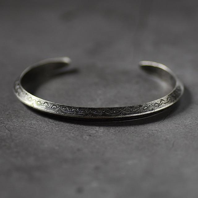 Bracelet rétro Viking acier inoxydable  1
