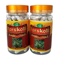 2Bottles Forskolin Extract 500mg x180Capsules Coleus Forskohlii- Highest Grade Weight Loss Supplement - Standardized At 20%