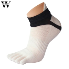 1 Pair Summer Men Socks Mesh Five Finger Toe Socks Free Shipping