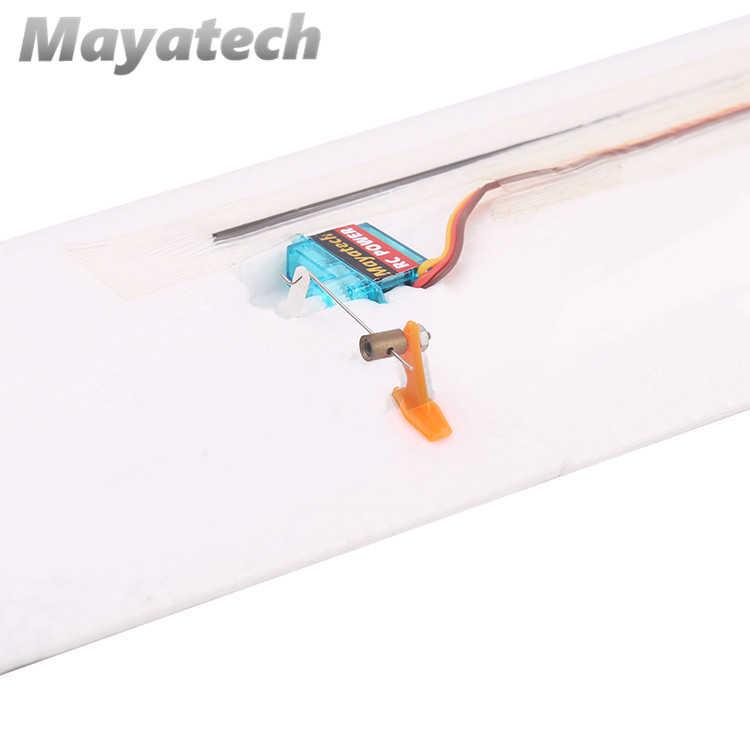 Ouverture de bouchon de tringlerie Servo en métal 1.1/2.1mm ajusteur de tige de cravate connecteur de tige de poussée de régulateur rapide en cuivre pour aile fixe modèle RC