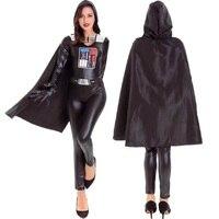 Star Wars Jedi Knights Rey Cosplay Darth Vader Gallon Storm Uniforms Halloween Costumes For Women 2017