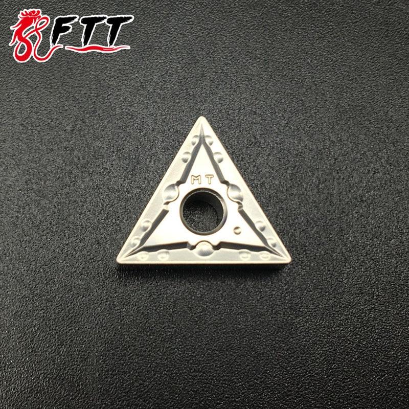 10 pièces TNMG160404 MT CT3000 TNMG331 carbure de qualité Cermet insère des outils de coupe de tour outils de tournage externes outils CNC