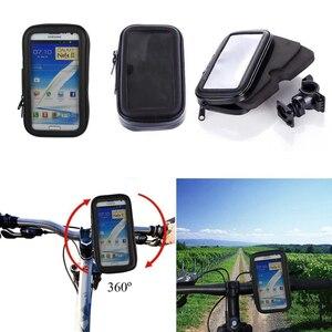 Image 5 - مقاوم للماء دراجة دراجة نارية autootivo جبل حامل هاتف حافظة لهاتف سامسونج جالاكسي S10 S10E M10 M20 A10 A40 S10 Plus