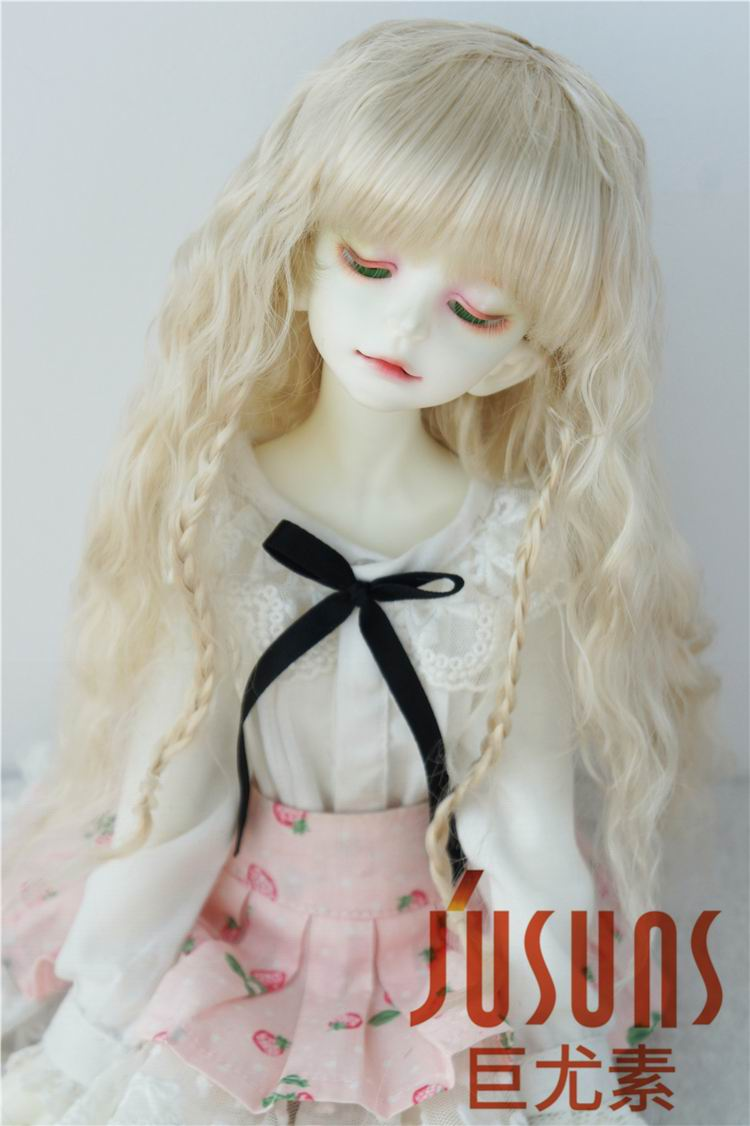 JD149 1/4 BJD wigs Middle Sauvage wig 7-8 inch Synthetic mohair Doll wig MSD doll accessories 8 9 bjd wig silver knights of england volume mohair wig spot