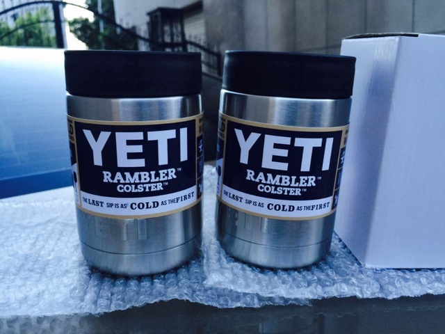 10pcs 12 oz <font><b>YETI</b></font> Vacuum <font><b>Insulated</b></font> <font><b>Rambler</b></font> <font><b>Colster</b></font> <font><b>Insulated</b></font> <font><b>Cup</b></font> <font><b>Mug</b></font> Drink Holder 304 Stainless Steel