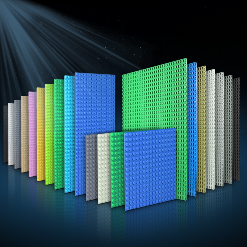 32*32 Dots Classic Base Plates Compatible City Dimensions Building Blocks Construction Toys For Children