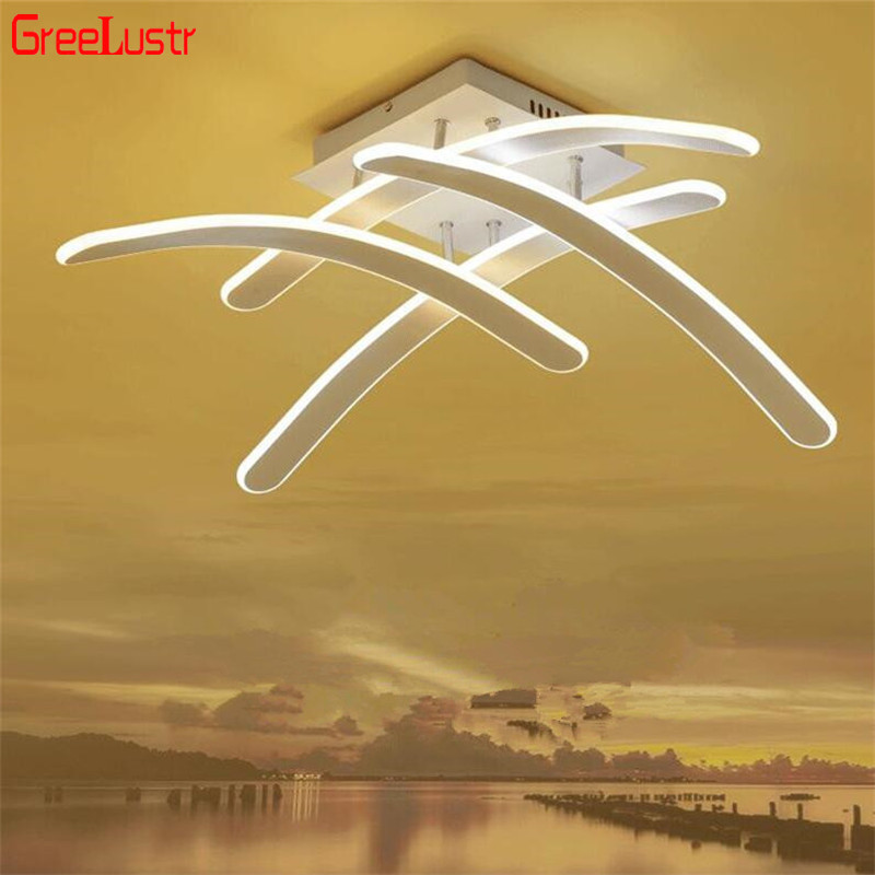 70W Modern Led Chandelier Ceiling Nordic Aluminum Avize Ceiling Lamp For Living Room Kitchen Plafon Interior