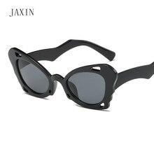 JAXIN Fashion Butterfly Sunglasses Women brand design personality gorgeous Sun lasses Lady trend wild eyewear glasses UV400gafas
