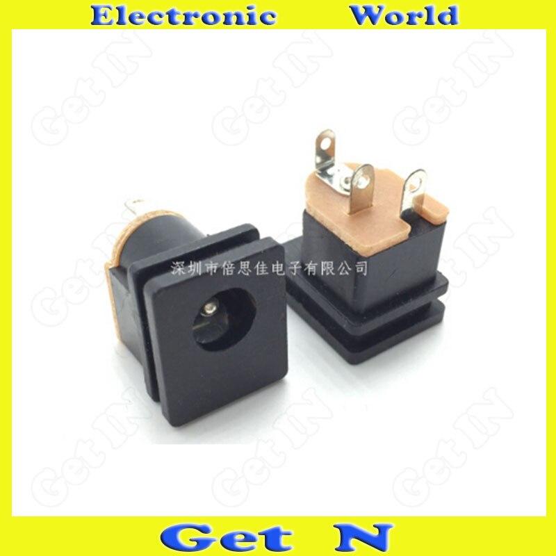 2ef8743703cff 200 pcs DC-015 5.5-2.5mm DC Carregamento Conector de Alimentação DC Power  Jack Quadrado de Alta Qualidade