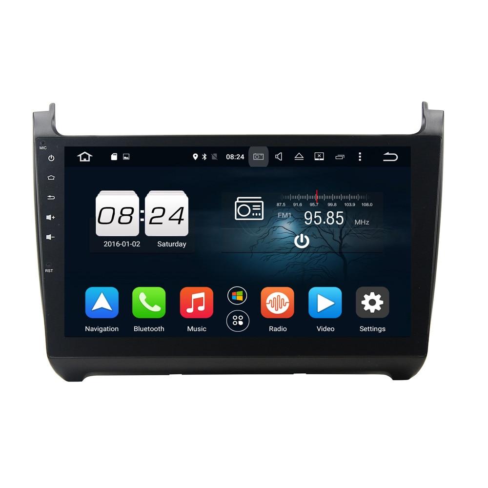 2 г + 32 г Android 6,0 автомобиль Dvd gps навигации 1024*600 gps навигации Мультимедиа Автомагнитолы для VW POLO 2015 с BT Wifi Зеркало Ссылка