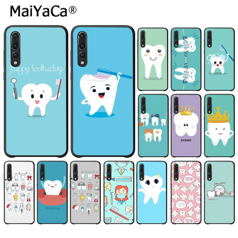 Cellphones & Telecommunications Maiyaca Nurse Doctor Dentist Stethoscope Tooth Phone Case For Huawei P20lite P10 Plus Mate9 10 Mate10 Lite P20pro Honor10 View10 Supplement The Vital Energy And Nourish Yin