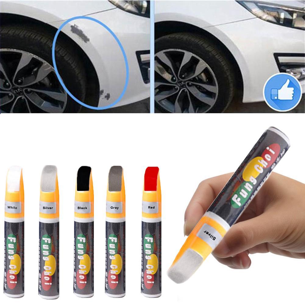 12ml Polychromatic Color Professional Car Scratch Repair Pen Waterproof Remove Applicator Utility Professional Car Jacket