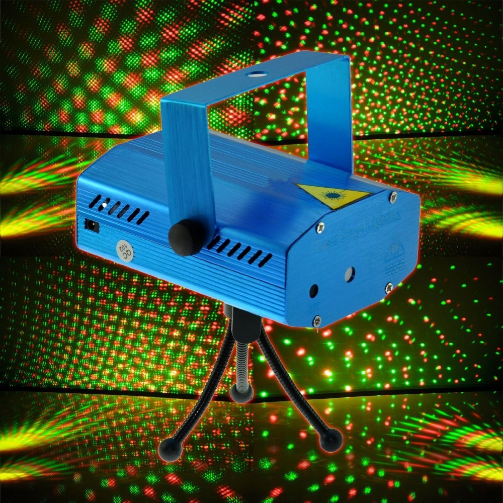 Generic Hot DJ Disco Party Lighting Show Mini Projector Stage Light for DJ Party