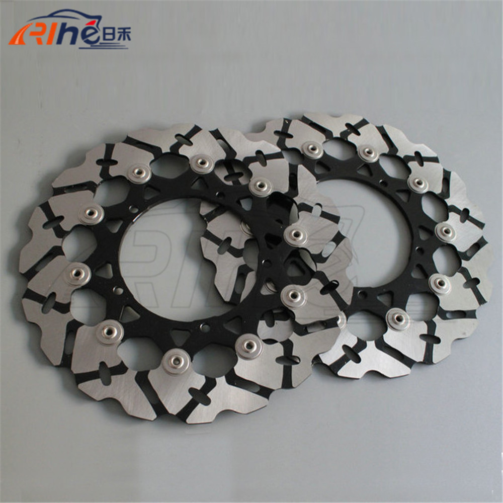 motorcycle Aluminum alloy inner ring&Stainless steel outer ring front brake disc rotos For YAMAHA FZ1 1000 2006 2007 2008 2009 motorcycle aluminum alloy inner ring