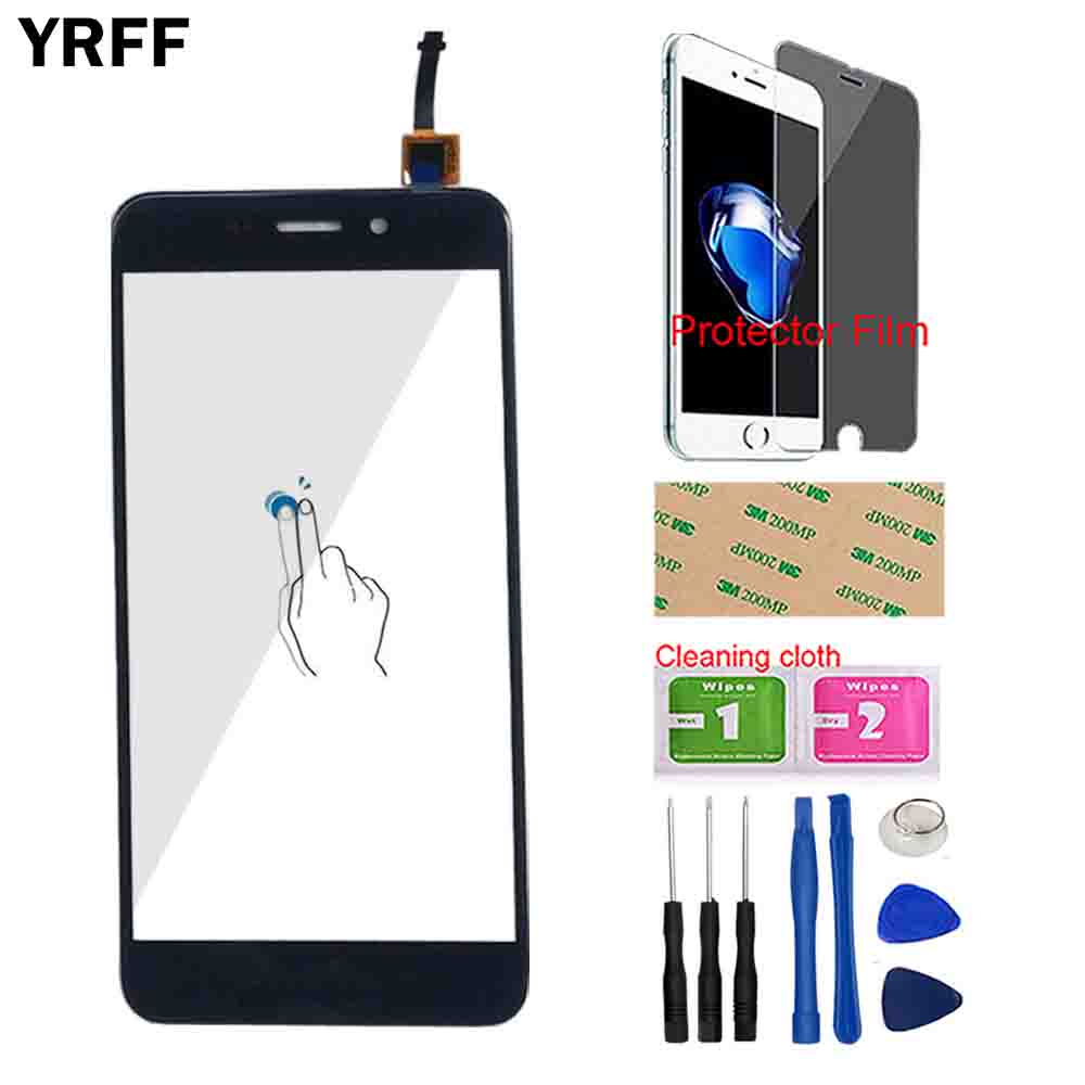 Mobile Touch Screen For Huawei Honor 6C 6 C Touch Screen Digitizer Sensor Front Glass Touch Panel Tools Protector Film