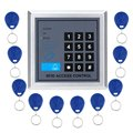 Door Lock Access Control System With 10 pcs RFID Keyfobs