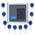 Fechadura da porta Sistema de Controle de Acesso Com 10 pcs Keyfobs RFID