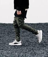 Foot Pants Men Hi Street Fashion Hip Hop Skinny Sweatpants Jogger Men Casual Slim Fit Elastic Waist Soft Joggers Pants Men XXL
