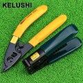 KELUSHI 2 в 1 FTTH Волоконно-Оптических Наборы Инструментов Pixian Fibre Зачистки + Оптическая Волоконно-Оптический Инструмент Для Зачистки
