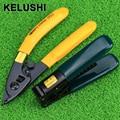KELUSHI  2 in 1 FTTH  Fiber Optic Tool Kits Pixian Fibre Stripping + Optical Fiber Optic Stripping Tool