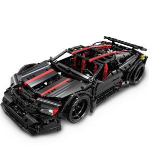 Image 2 - Ensemble de blocs de construction, modèle, technique de course arrière, pour enfants, briques, Muscle Super, jouets denfants à monter soi même