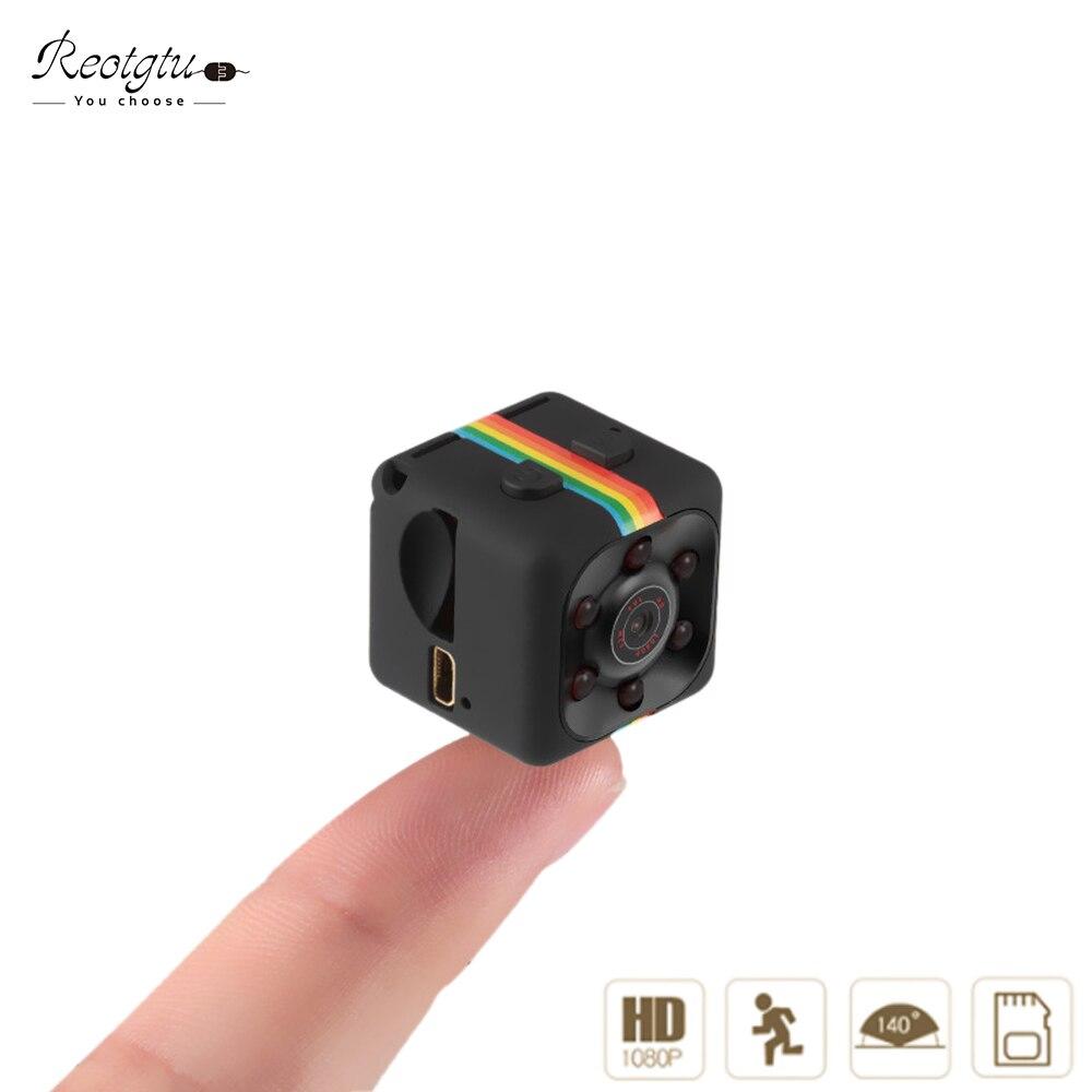 Reotgtu Date SQ11 HD 1080 P Mini Caméra De Voiture Ou Vélo De Conduite En Plein Air Sport Mini DV de Vision Nocturne Voix Vidéo enregistreur
