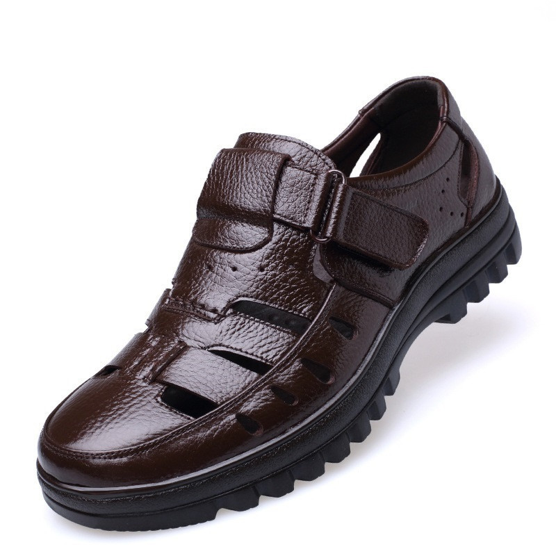 Size 38-44 uomini estate scarpe stile Classico stile Retrò Gladiatore uomini Freddi sandali Fretwork Traspirante Scarpe Fisherman Nero marrone