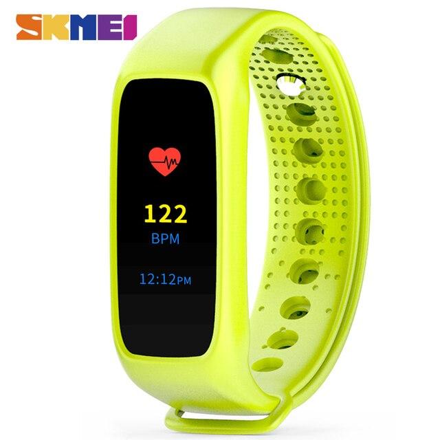 SKMEI L30T Men Women Smart Bracelet Heart Rate Monitor Sleep Tracker L28T Evolution Edition Fashion Casual Wristwatch