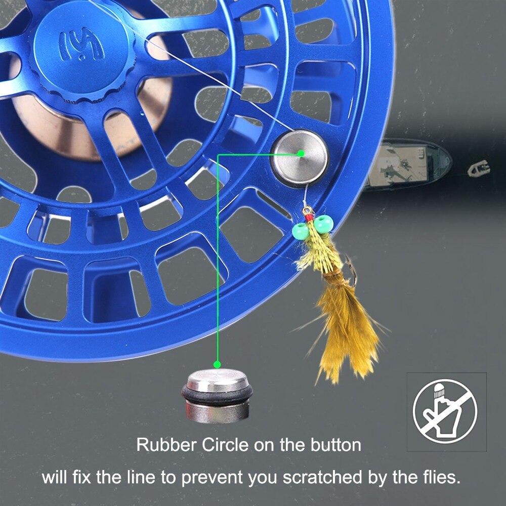 Профессиональная катушка для ловли нахлыстом Maximumcatch Maxcatch SPRINT, Полностью герметичная, 100% водонепроницаемая, обработанная на станке с ЧПУ, катушка для ловли нахлыстом 5