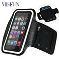 Armband para iphone 7 plus banda ginástica do esporte braço bolsa capa à prova d' água caso correndo para iphone 6 6 s plus samsung galaxy note 3 4