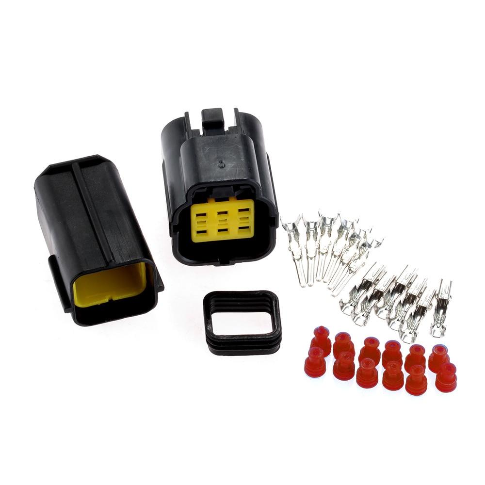 6 Pin Way Vodootporan Električni priključak žice PlugMale Ženski - Automobilska Elektronika