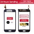 Original probado 4.5 pulgadas pantalla táctil del teléfono móvil para samsung g361h touch core primer g361 g361 panel de vidrio de la pantalla adhesivo libre