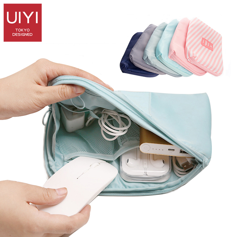 2019 New Women Men Travel bag Storage Package USB Small Cosmetic Bag Women Cosmetic Bag For Make Up Cable Storage Organizer Bags