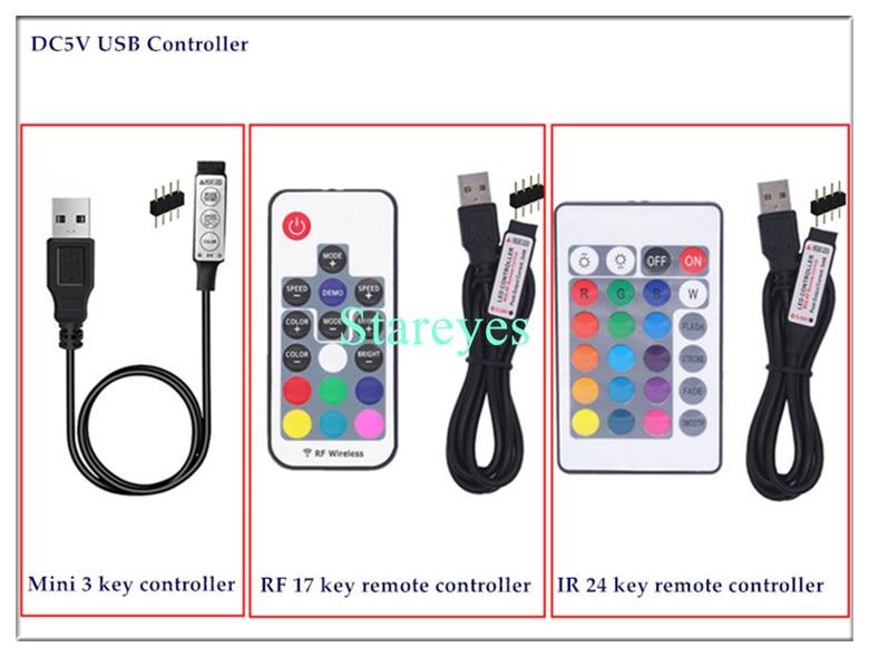 HTB1jLCYcpuWBuNjSszbq6AS7FXaG SMD 5050 RGB LED Strip DC 5V USB LED Light Strips Flexible IP20 IP65 Waterproof Tape 1M 2M 3M 4M 5M add Remote For TV Background