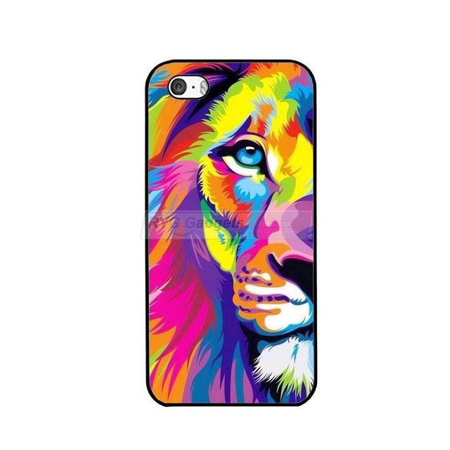Case Painted Lion iPhone 5/5S/SE